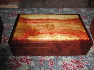 Box Elder and Bubinga Jewelry Box