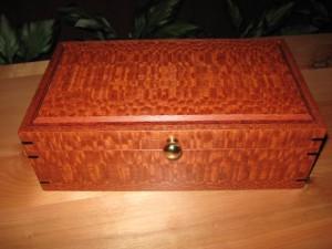 Lacewood Keepsake Box